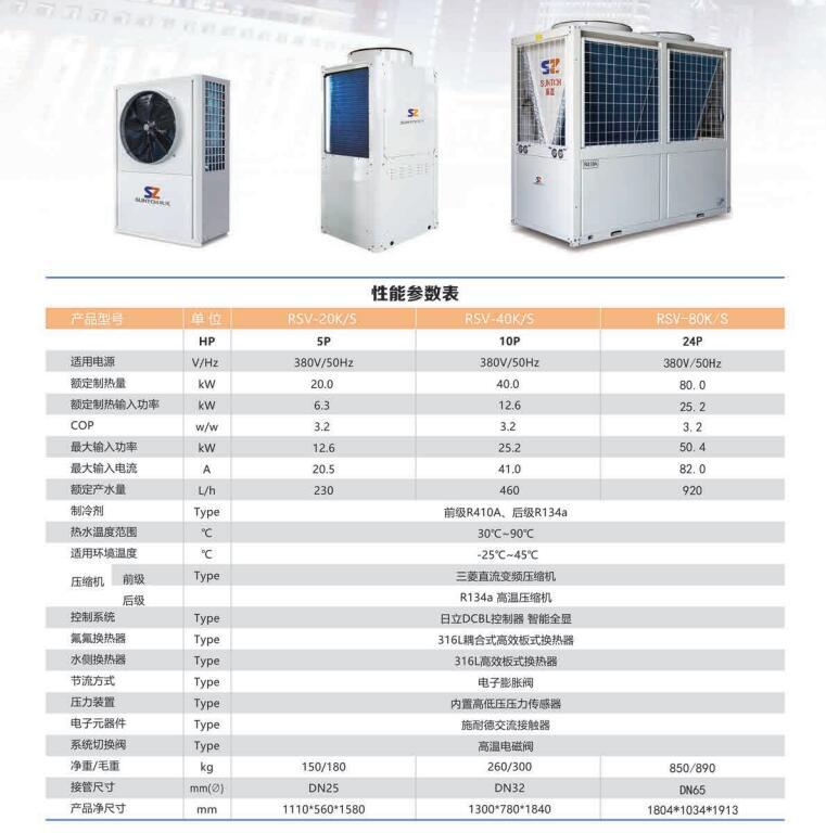兰州高温热泵热水机组
