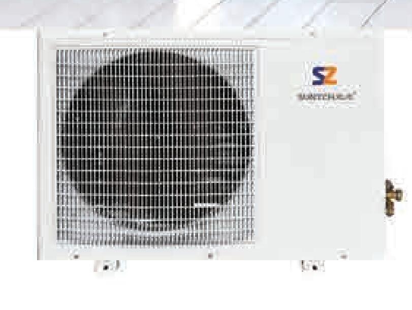 全直流变频低温空气能热风机