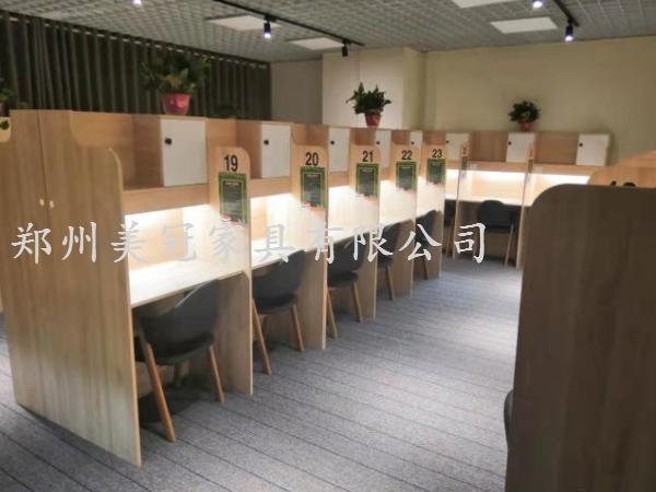 河北共享自习室桌子