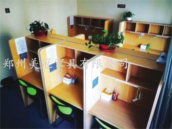 湖北共享自习室屏风桌