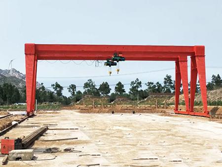 MH电动葫芦门式起重机
