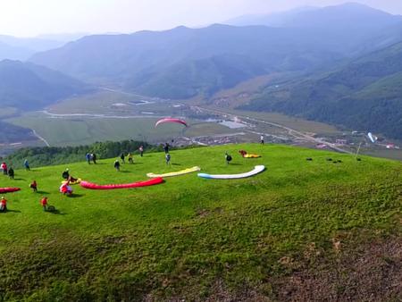 辽宁滑翔伞基地