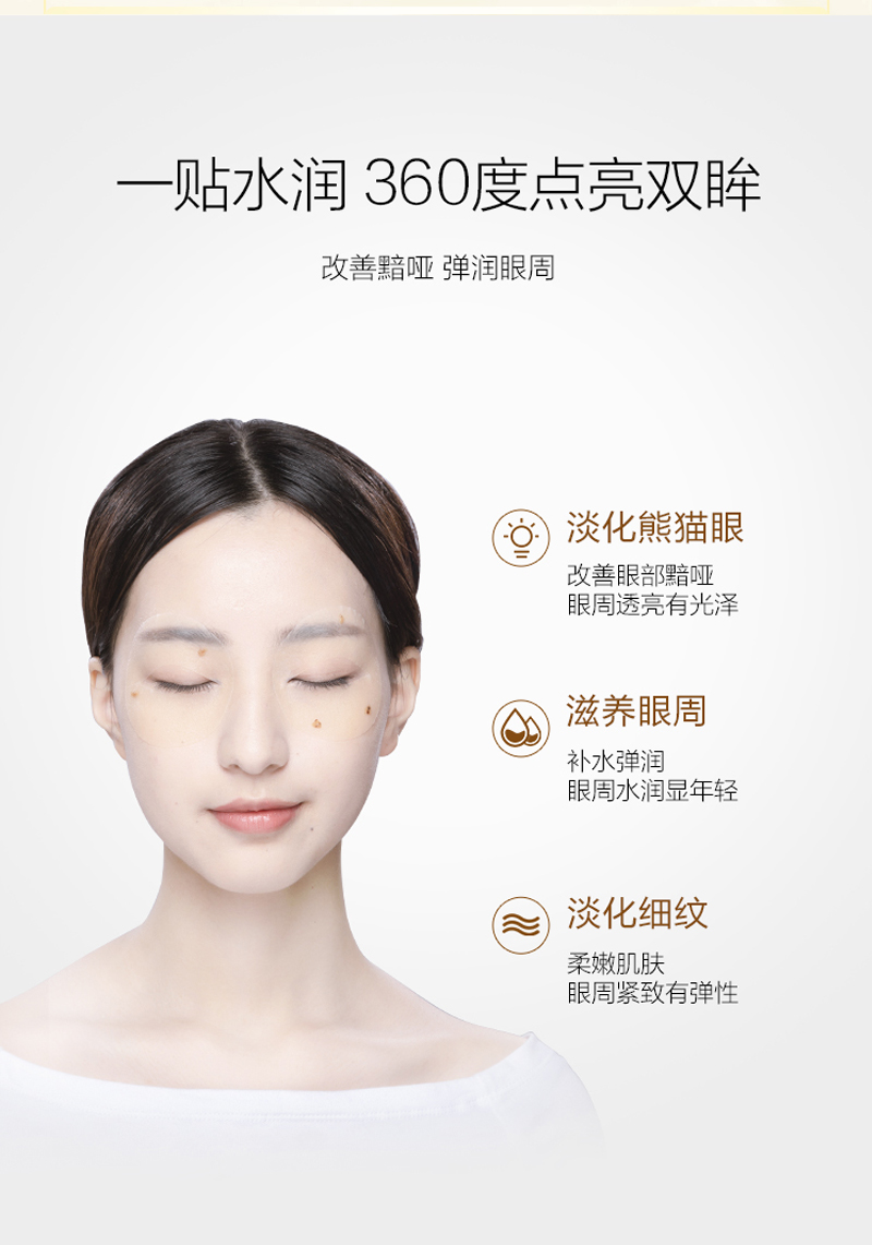 淡化細紋緊致眼袋眼貼膜