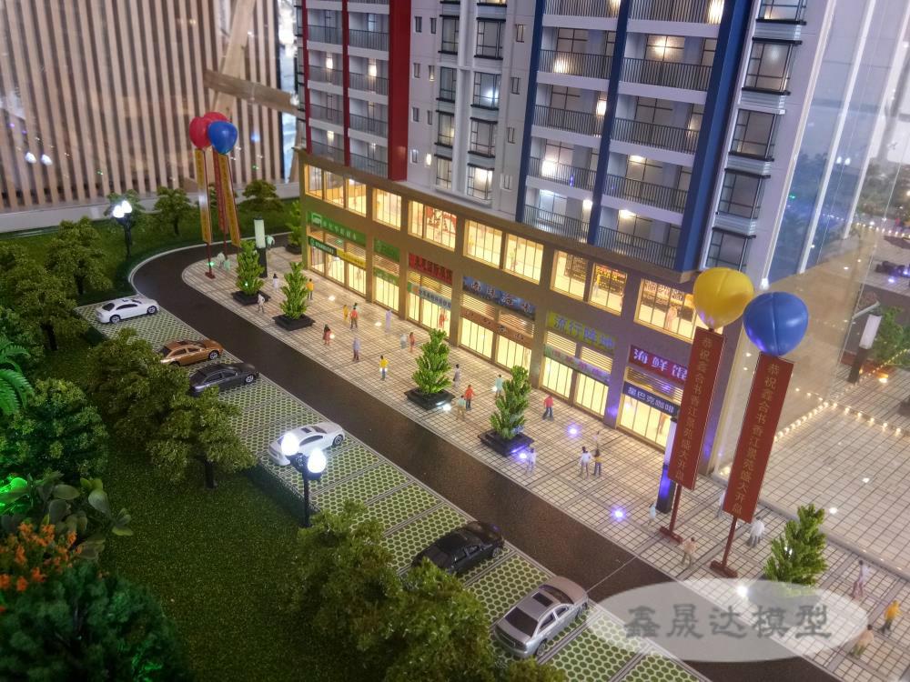 廣西售樓模型