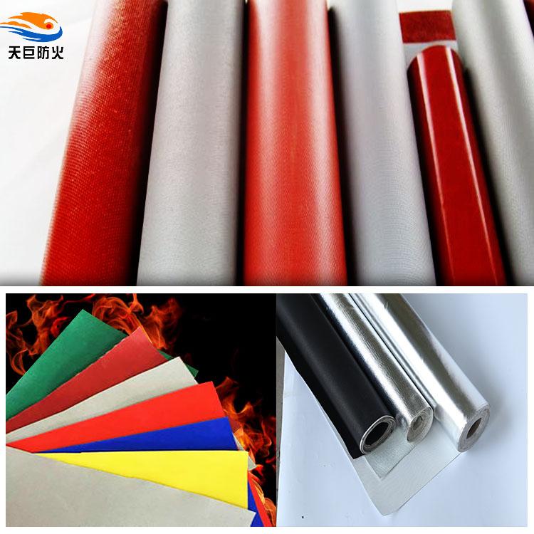 硅橡膠玻璃纖維布