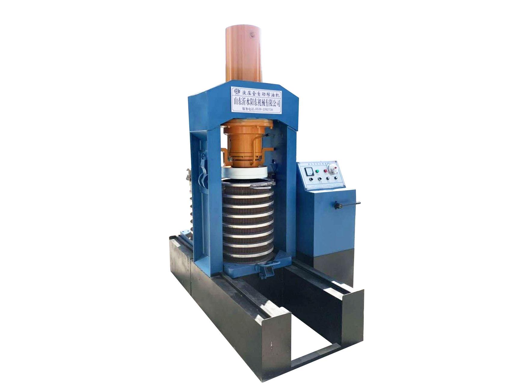 液压式榨油机