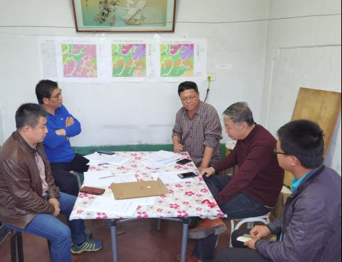 省地质科学研究所领导专家  莅临检查林口矿调项目组野外生产工作