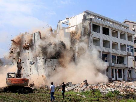沈阳房屋建筑拆除