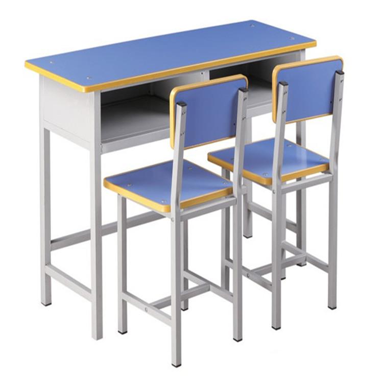 新鄉雙人固定課桌椅
