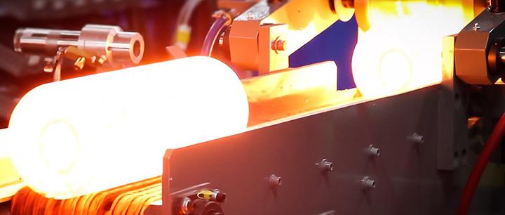 模塊化坯料感應加熱爐