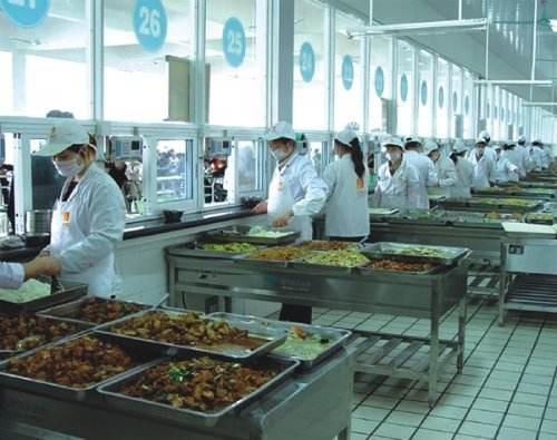 食堂工作人员