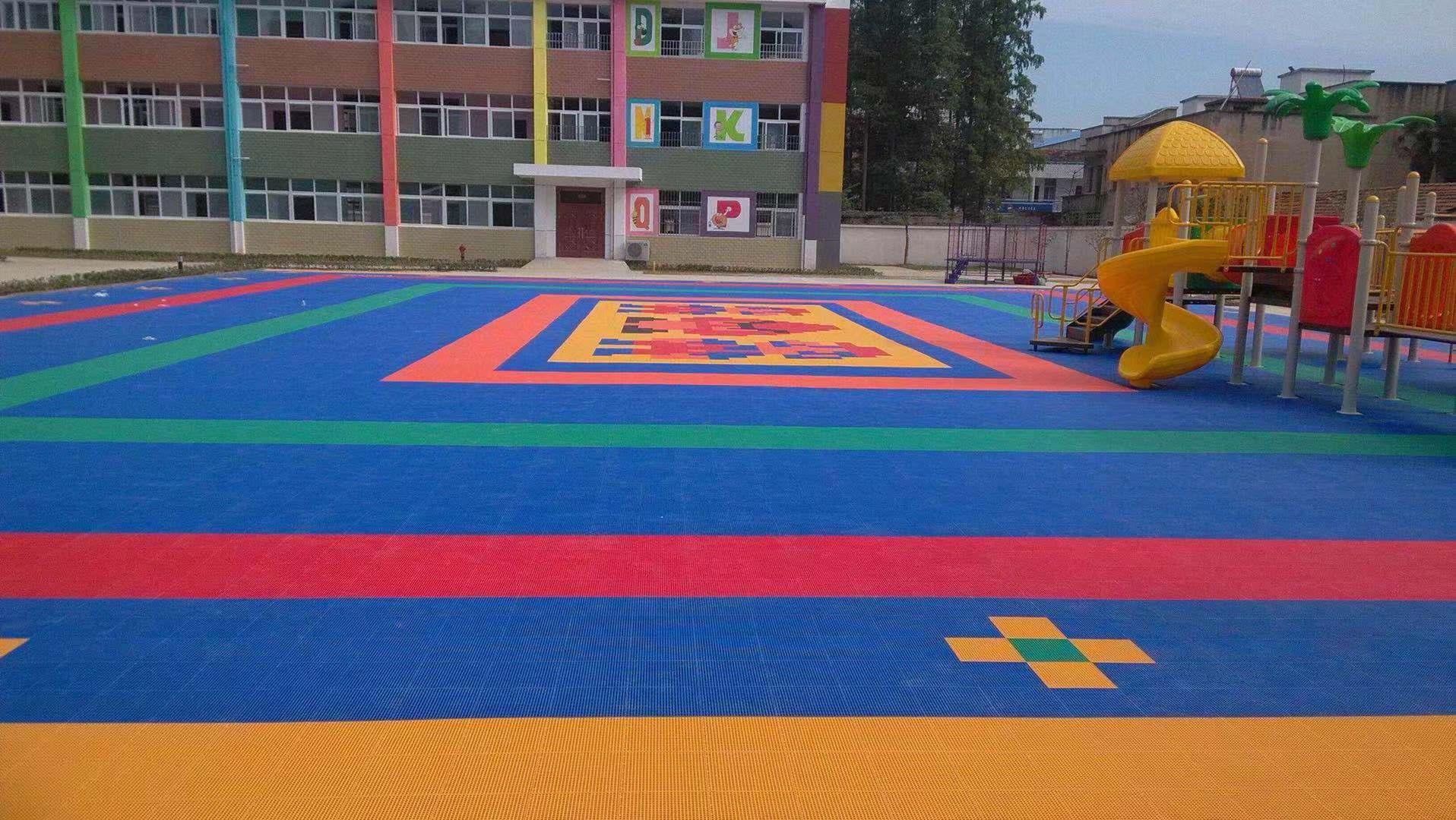 沈阳幼儿园塑胶地板