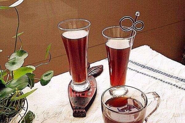 山楂水果茶