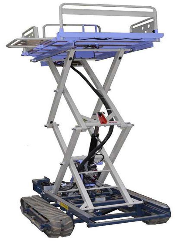 履帶自走剪叉式高架作業機