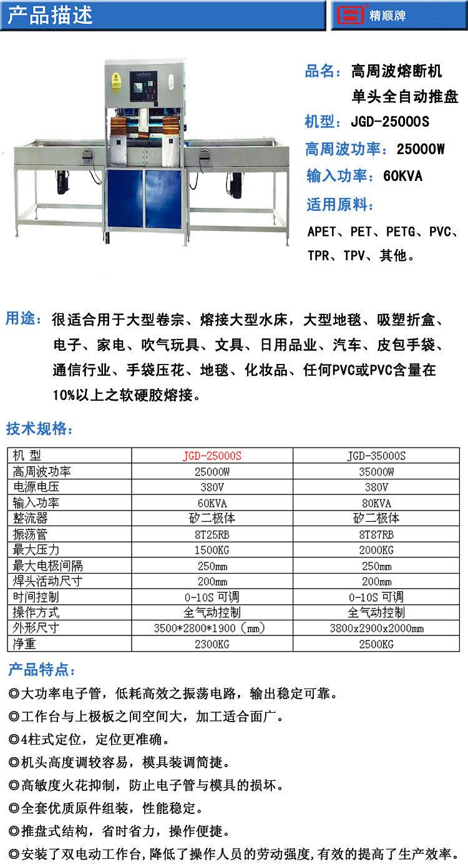 25kw龍門式滑板機