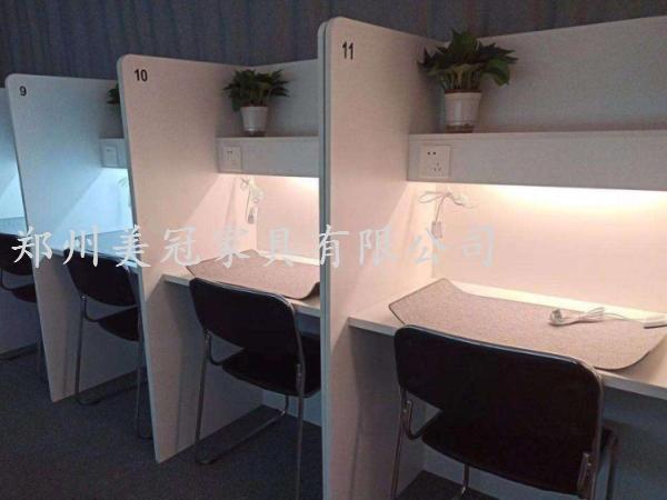 河南考研自习室屏风桌