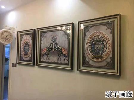 东北酒店装饰画