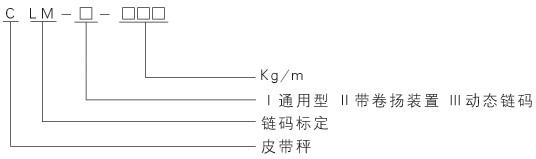 CLMXLM系列皮带秤链码标定装置