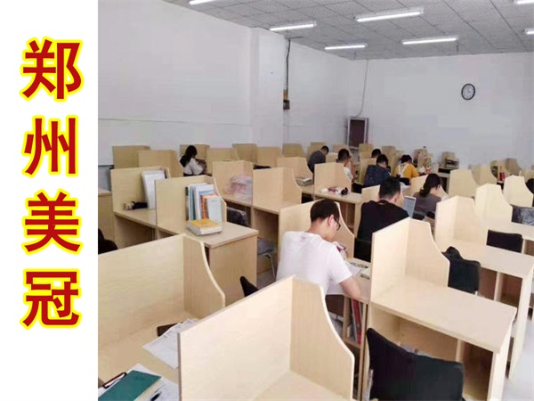 河南考研自习室桌子
