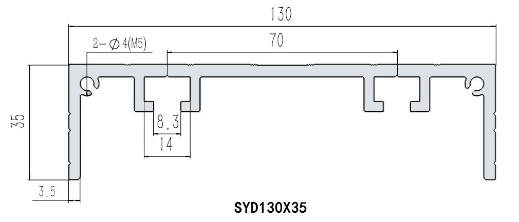 欧标辅助型材