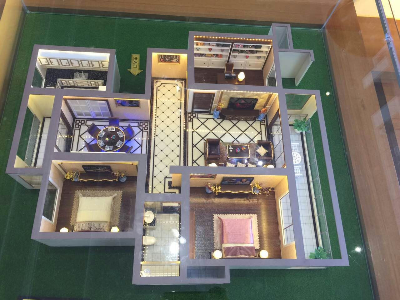沈陽樓盤建筑模型