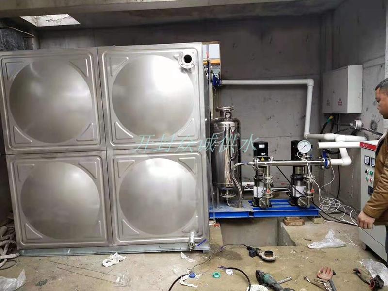 不銹鋼變頻供水機組