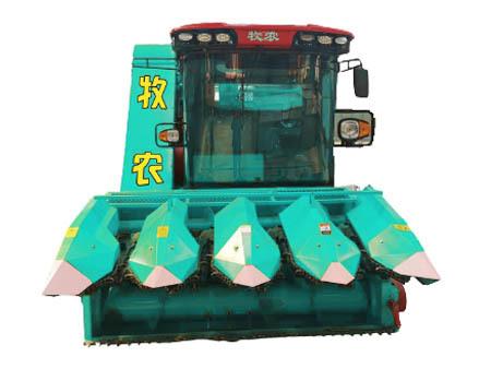 自走式玉米茎穗兼收青储收割机