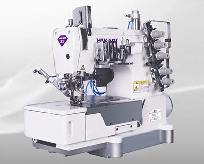 富山HW762T电脑直驱自动剪线平台式绷缝机