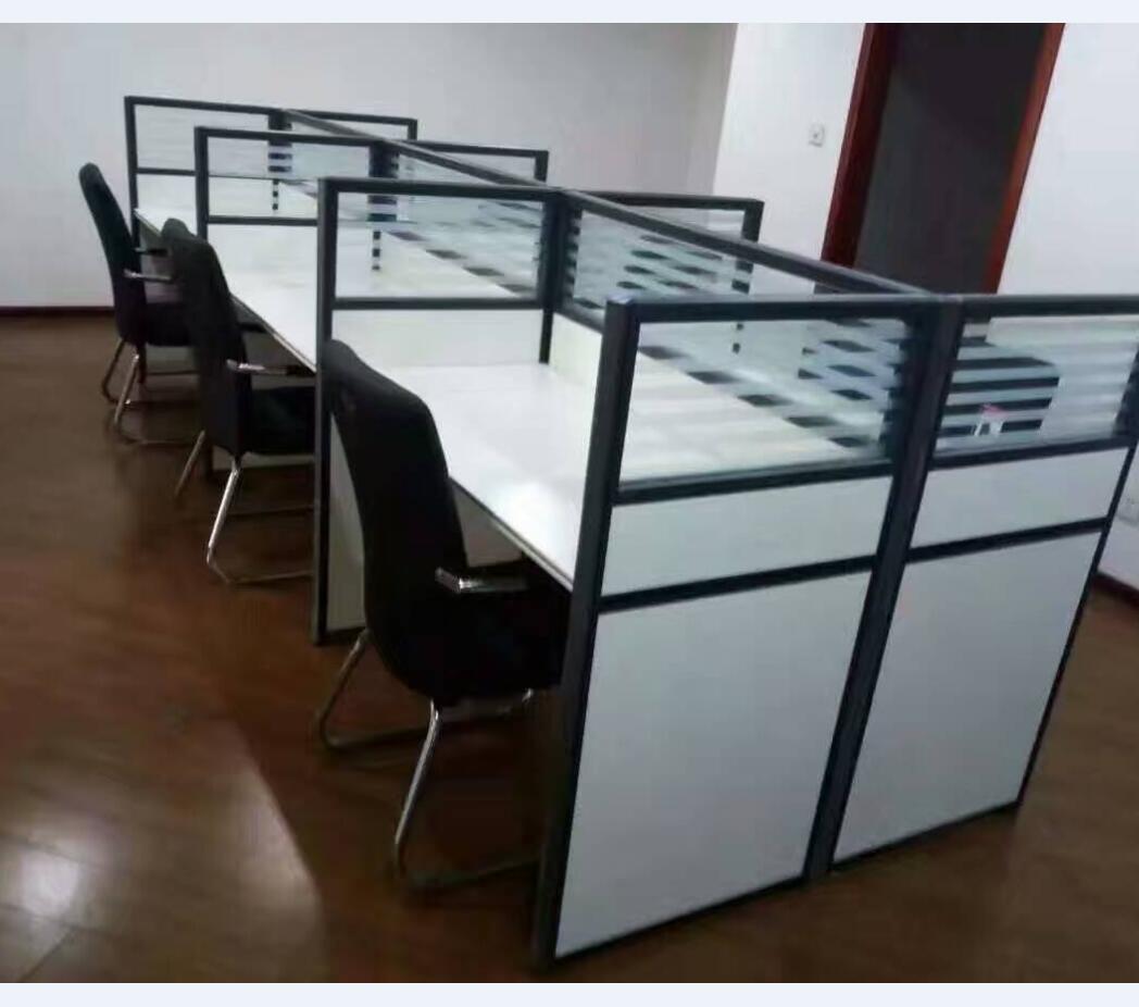 南阳带隔断的办公桌