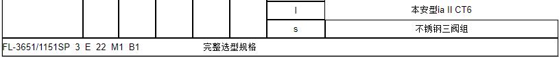 3651/1151SP负压力变送器
