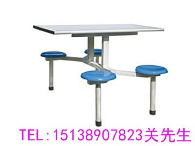 漯河4人位连体餐桌椅