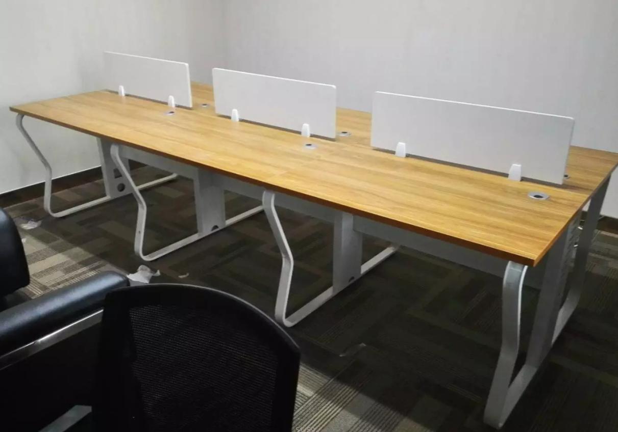 三门峡员工钢架桌