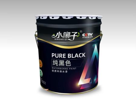 小黑子純黑水漆