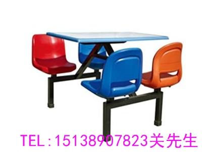 鹤壁四人不锈钢餐桌椅