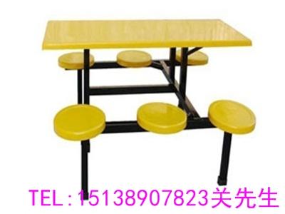漯河六人不锈钢餐桌椅
