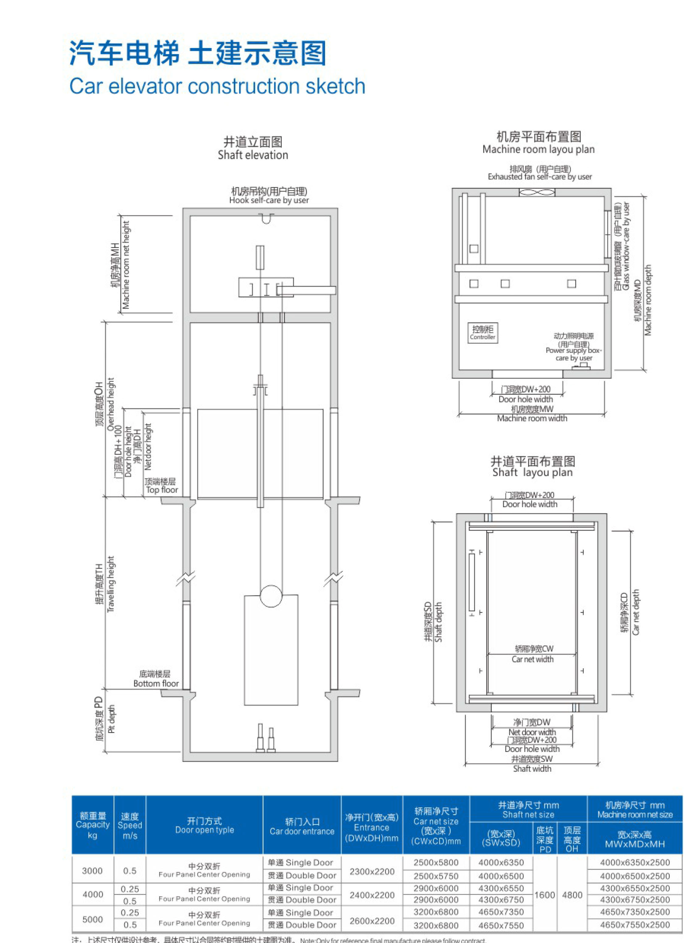福建汽车电梯安装