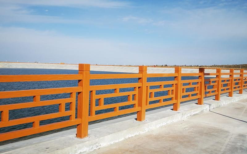 宁夏仿木护栏