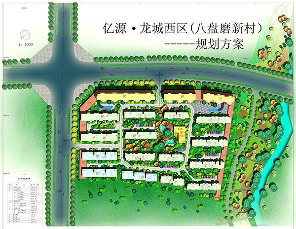 亿源龙城新村平面图