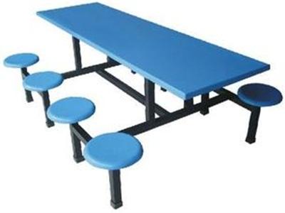 三门峡食堂多人位餐桌椅