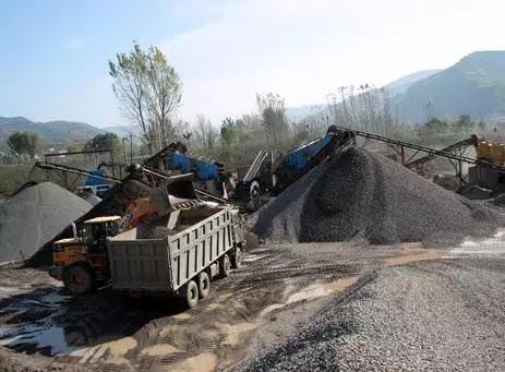 河卵石制砂生产线
