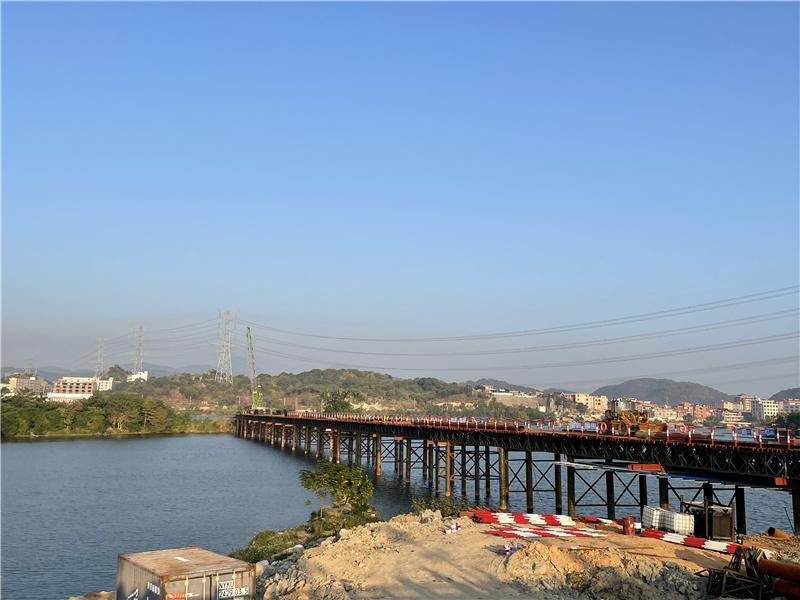 南安市武荣大桥钢栈桥与钢平台项目