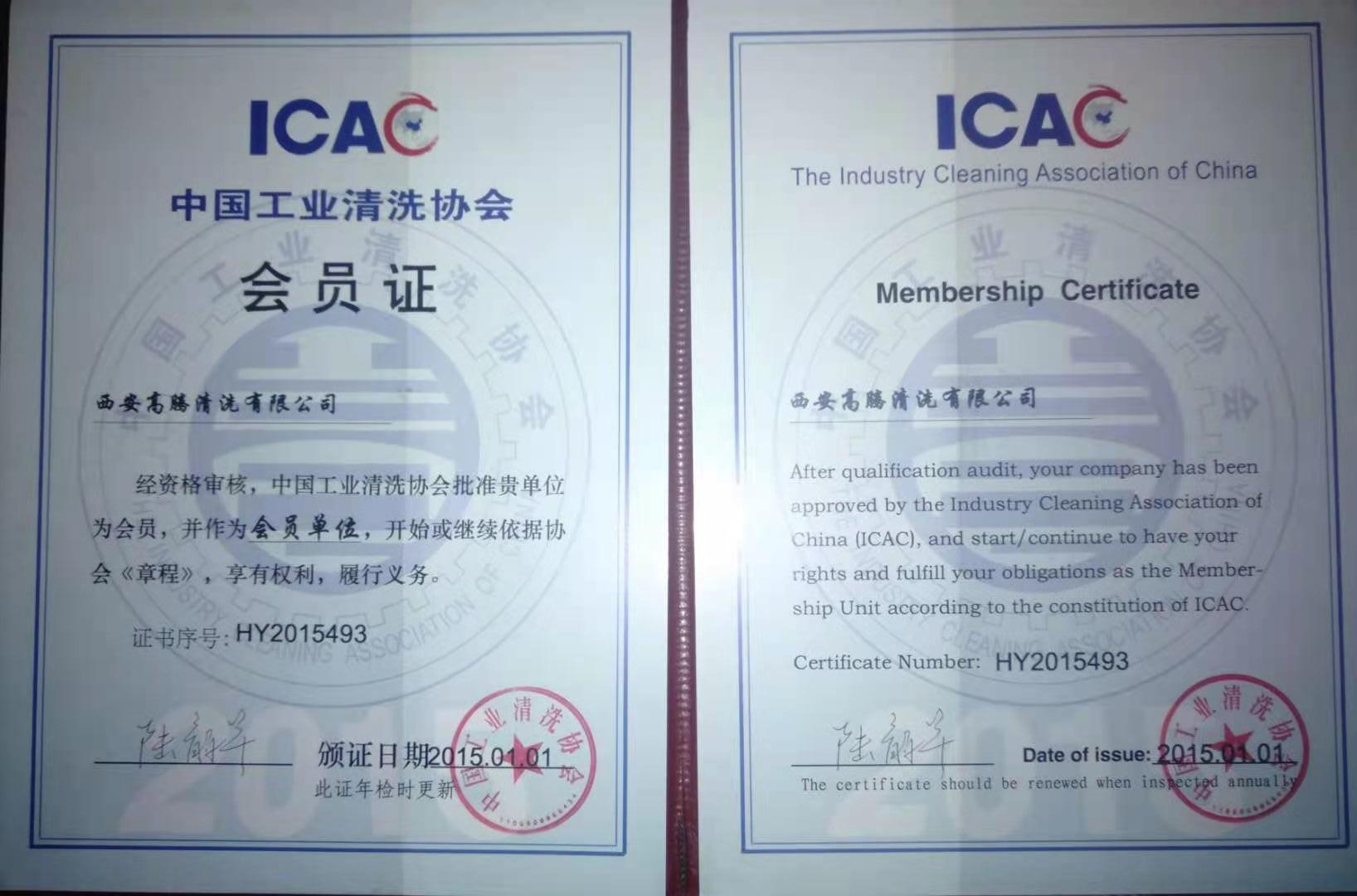 中国工业清洗协会