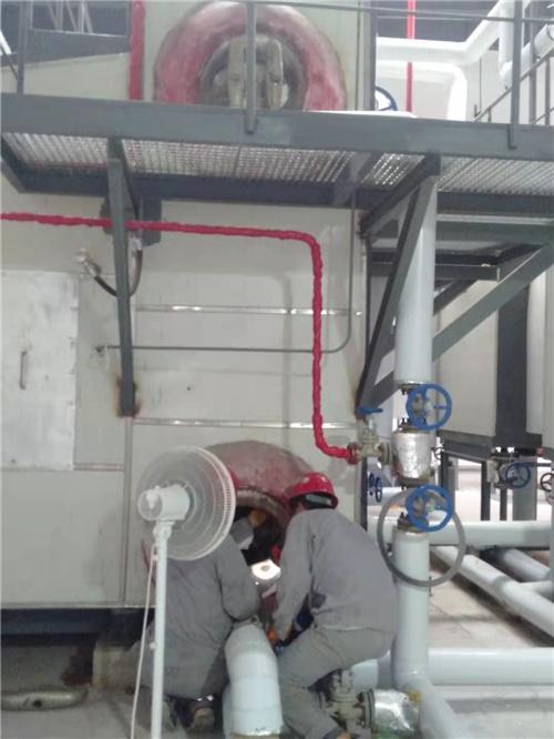 供暖蒸汽锅炉清洗除垢
