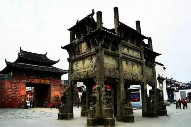 河南石雕牌坊
