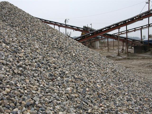隧道廢渣石制砂生產線