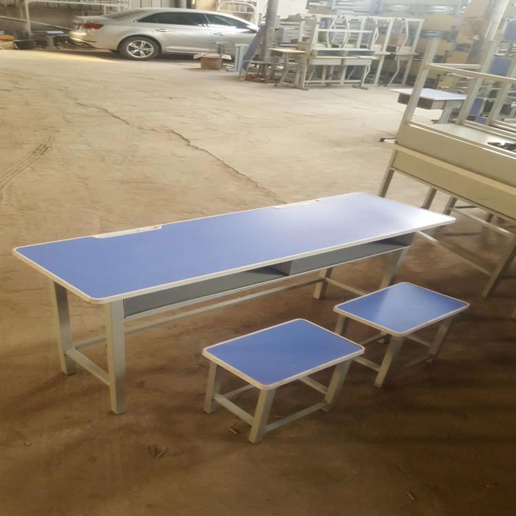 安陽雙人課桌凳