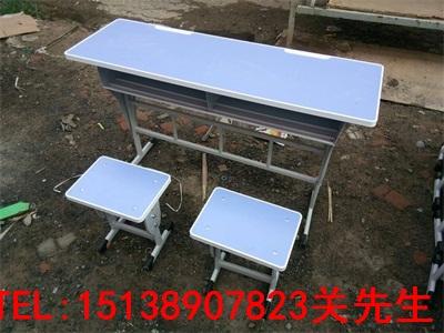 信阳双人固定课桌椅