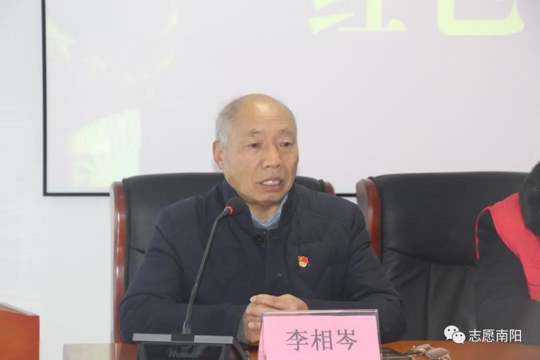 南阳市社区志愿者协会百场红色文化宣讲正式启动