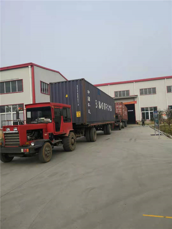 Containers Delivery from Factory