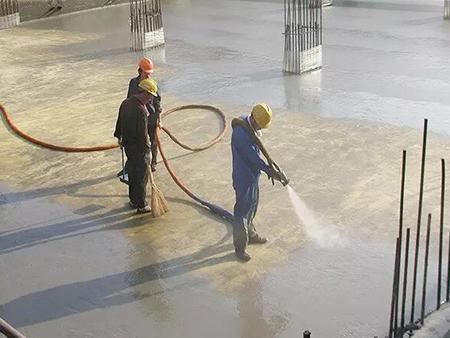 聚脲喷涂防水施工